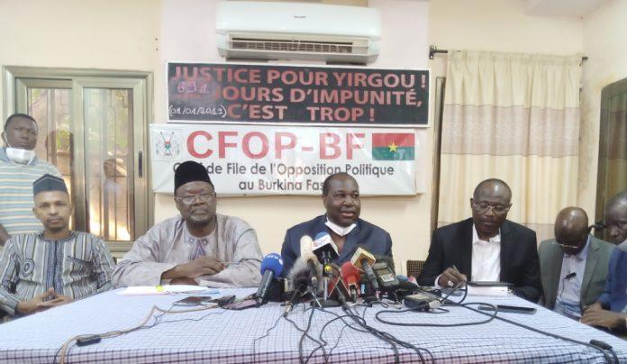 représentants des partis signataires de l'accord politique
