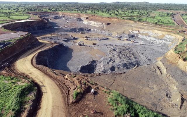 Mine d'or de Boungou à l'Est du pays