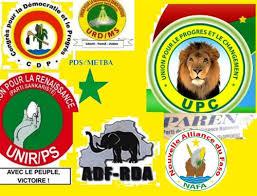 les partis et formations politiques