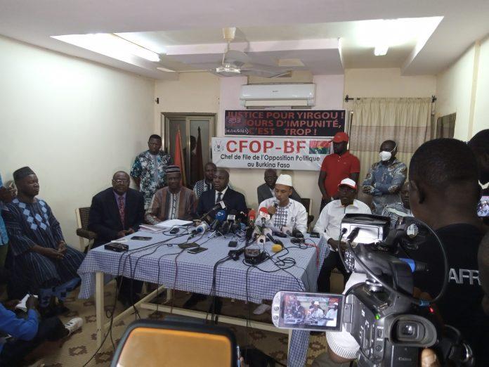 Les candidats de l'opposition signataire de l'accord politique dénoncent des irrégularités dans l'organisation des élections du 22 Novembre 2020