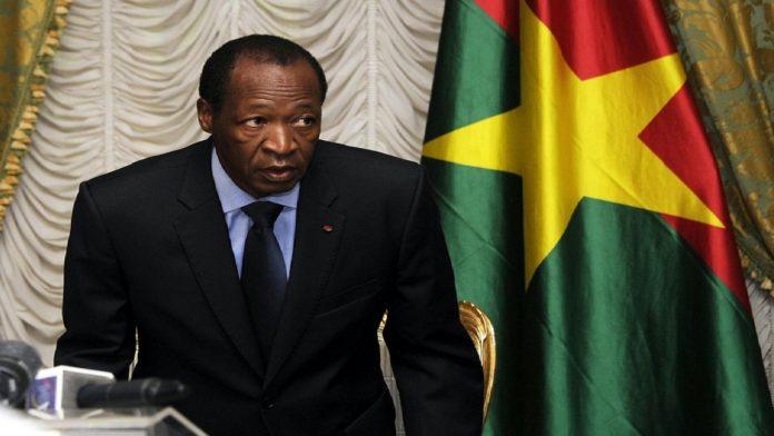 Blaise Compaoré ancien président du Faso